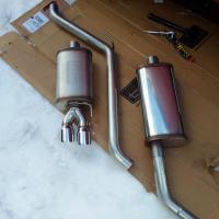 Techtonics Exhaust for the VR6 Eurovan