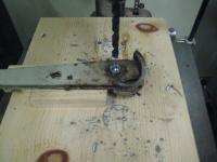 Drilling Out Brake Pin