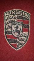 Porsche Wool Blanket