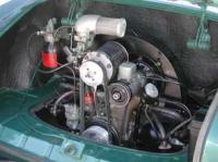 Karmann Ghia -58 Convertible