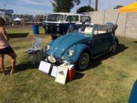 1963 Volkswagen convertible Lizzie