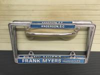 NOS License Plate Frames