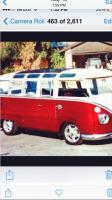 Stolen VW split window 1967 VW/Volkswagen 21 window micro bus
