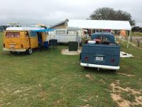 Texas VW Classic camping