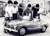 Vintage Ghia Toy Car