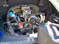 Fuel filter backflush