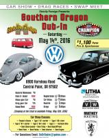 2016 Southern Oregon Dub-In Flyer