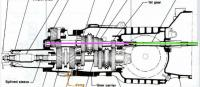 Syncro transaxle forward drain hole ...dang