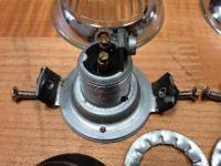Rometsch Beeskow Hella turn signal lights / tail lights 1956