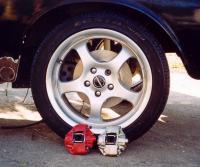 Type 1 disc brakes on a Type 3