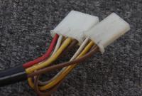1991 power door lock connectors - behind glovebox