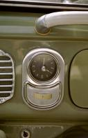 Kienzle Ashtray Clock in my VW Oval Ragtop Bug