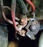 Wiring at Starter - '78 Westy FI