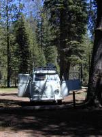 Campsite at Juniper Lake, Lassen Volcanic Nat'l Park