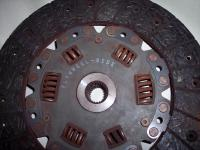 Busted Clutch Plate