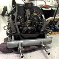 40 hp install