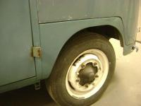 More metal work and paint blending photos on the '58 westy