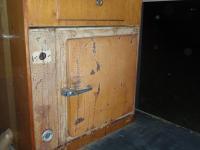 Silo Fridge install '3/58 westfalia