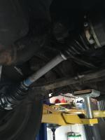 CV joint maintenance
