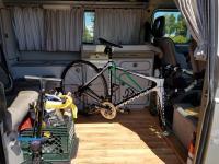 vanagon interior bike mount