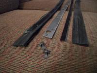 1959 ghia window scraper assembly