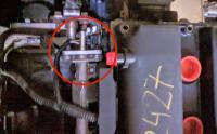 Bostig RG6 SK-I: Bostig fuel rail inlet