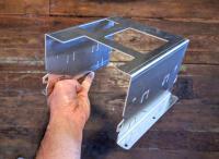Bostig RG6 SK-W: Bostig wiring bracket