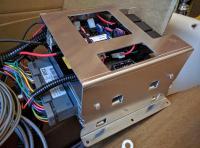 Bostig RG6 SK-W: Fully completed Bostig wiring bracket