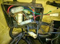Bostig RG6 SK-W: Pink/black wire remains disconnected