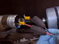 Bostig RG6 SK-W: Installing ring terminals on Bostig fuel pump wires