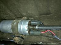 Bostig RG6 SK-W: Completed fuel pump wiring