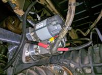 Bostig RG6 SK-W: Finished wiring for GoWesty gear reduction starter