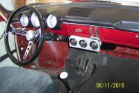 Fastback Gauge Mounting