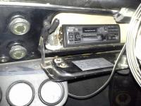 gauges and dash and radio