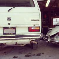 Syncro in the garage