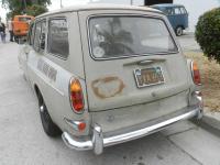 1966 L568 Sea Sand Squareback Variant Old Speed Slammed Narrowed Sprint Star Original Paint Patina Monster Black Plate