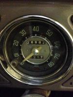 beetle trip meter speedo