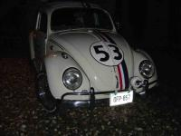 Off roading lights on Herbie