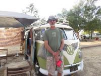 wood roof in standard microbus