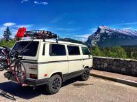 Overland_van In Banff National Park