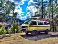Overland Van at Tunnel Mountain