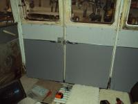 home made interior panels 66 bus
