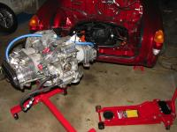 ready to re-install engine in Ghia