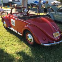 1950 Hebmuller at Bug Bash