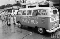 Lincoln Rockwell's hate bus