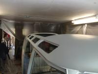 23 window conversion roof in primer