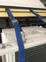 Air conditioner mounts in Vanagon