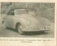 Porsche race 1954