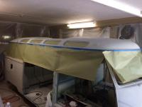 23 window conversion roof in second coat of primer