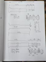 Axle dimensions